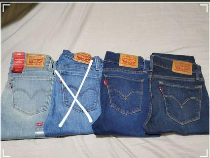 Levi's 710 Super Skinny Jeans size 25