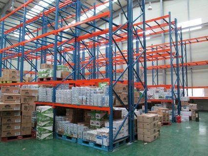 Pallet Rack heavy duty rack 2 Tons Capacity 5 yr warranty