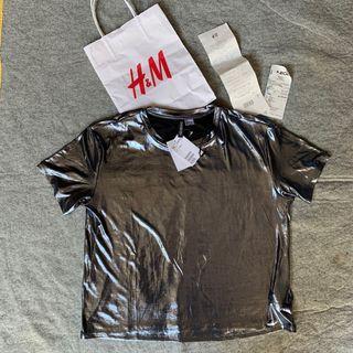 Metallic Tops by H&M