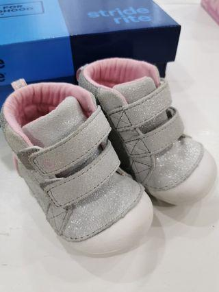 Stride rite baby girl shoes UK3. 5