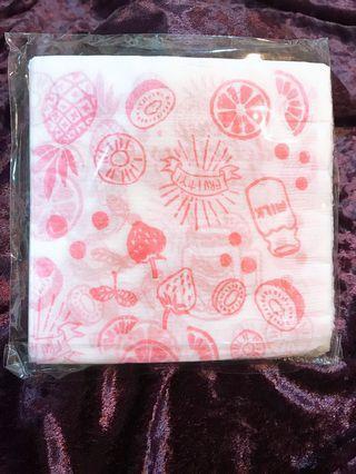 生活家居-日製印花餐巾紙