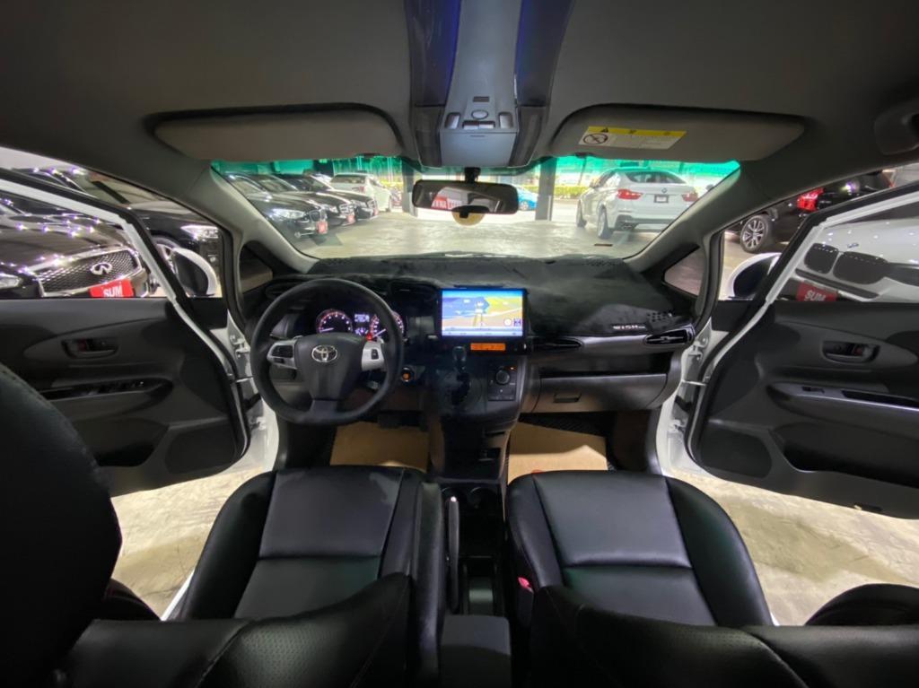 正2010年 Toyota Wish 2.0G 高階運動紅縫線皮椅版.免鑰匙啟動