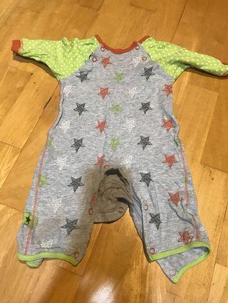 星星嬰兒連身衣