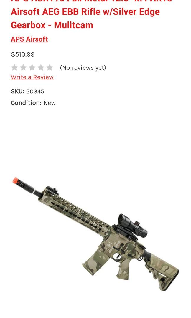 Airsoft M4 Carbine Assult Rifle extra mag and amo!