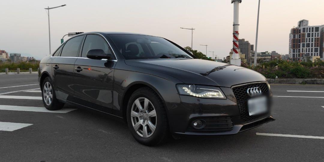 Audi A41.8t. 2009年 可貸65萬 多25萬周轉金 配備:6安 定速 換檔撥片 循跡防滑 恆溫