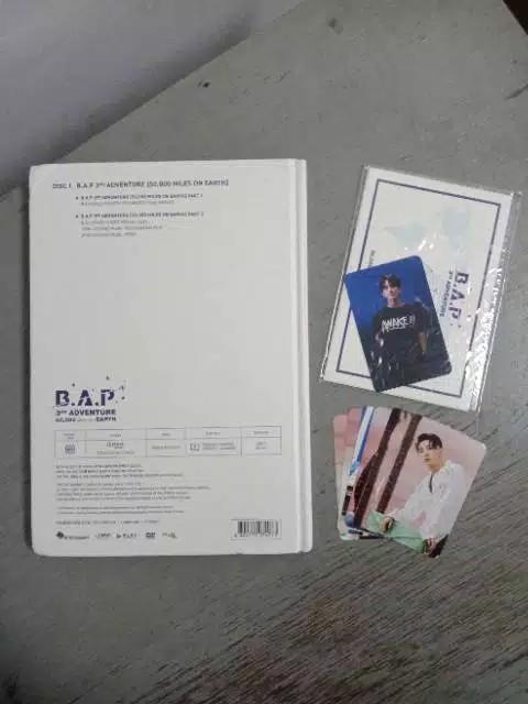 B.A.P 3rd Adventure DVD 50.000 Miles on Earth _ BAP
