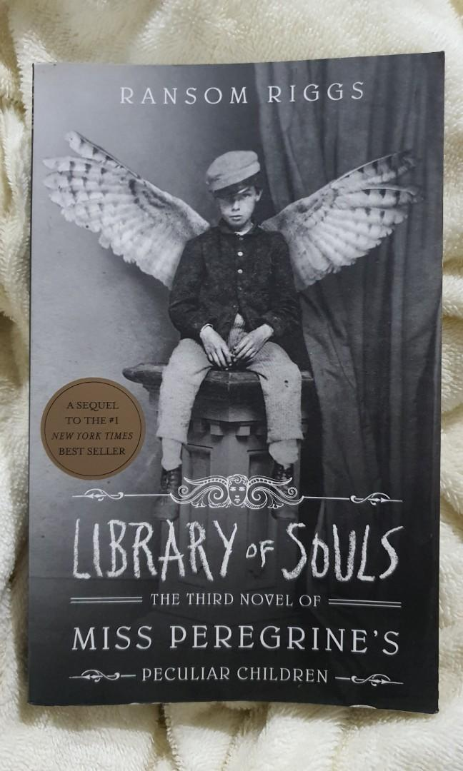 Cheap Book: Library of Souls (3rd Novel of Miss Peregrine's Peculiar Children) by Ransom Briggs