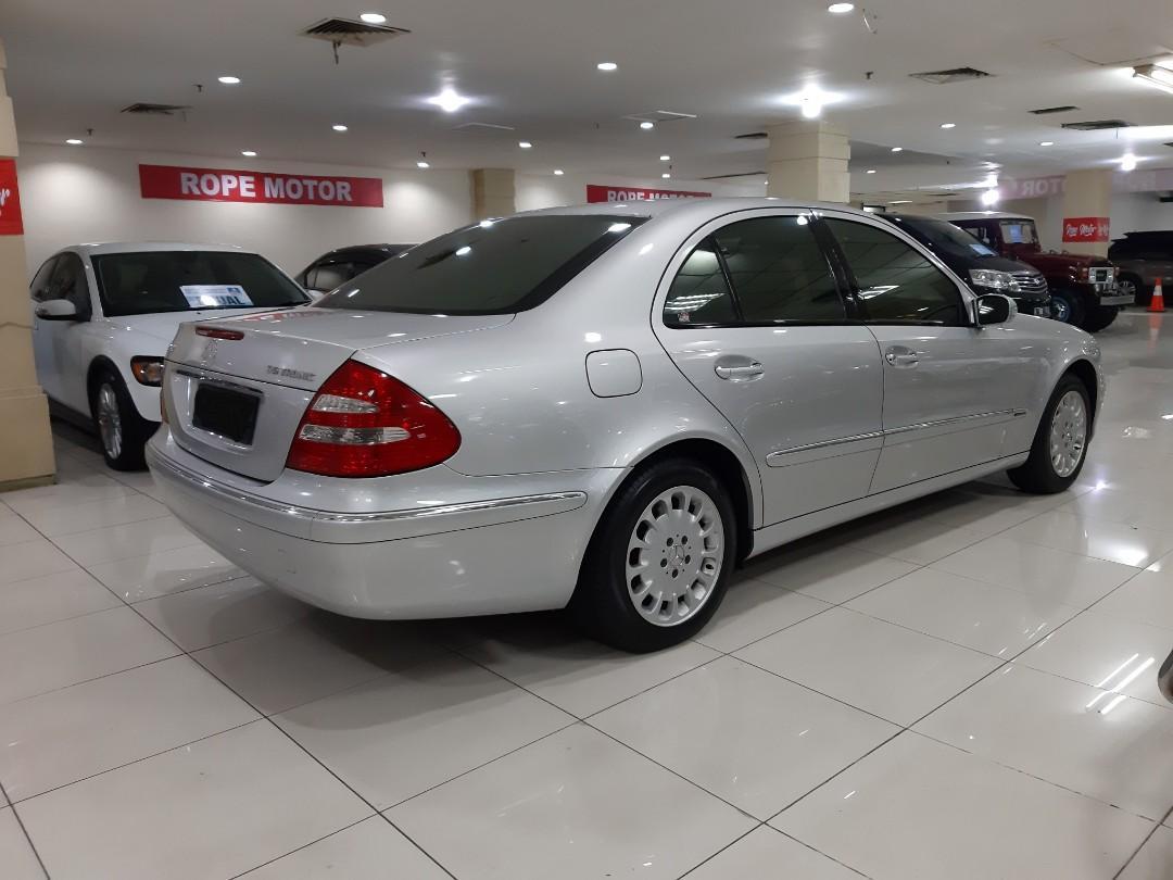 for SALE tahun 2007.Mercedes-Benz MERCY E280 7G-Tronic Automatic.Perfect CONDITION.Nopol B-Depok(GENAP).DiJUAL Nego cash/credit/bisa Tukar Tambah dengan Unit Mobil Lain