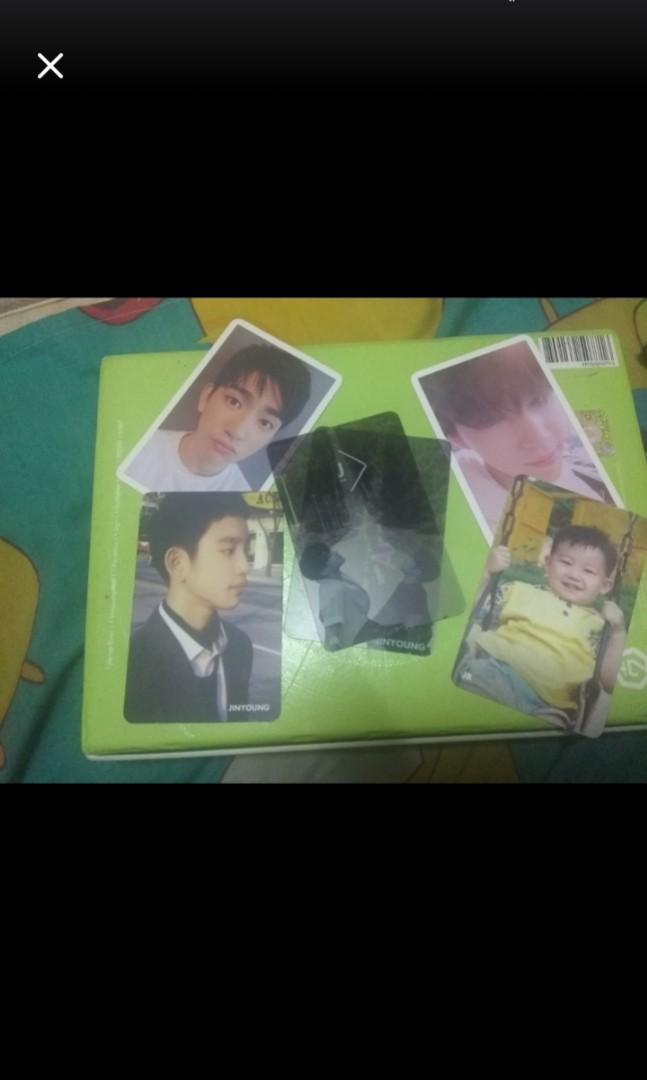 GOT7 JJ PROJECT JINYOUNG VERSE 2 OFFICIAL PHOTOCARD PC