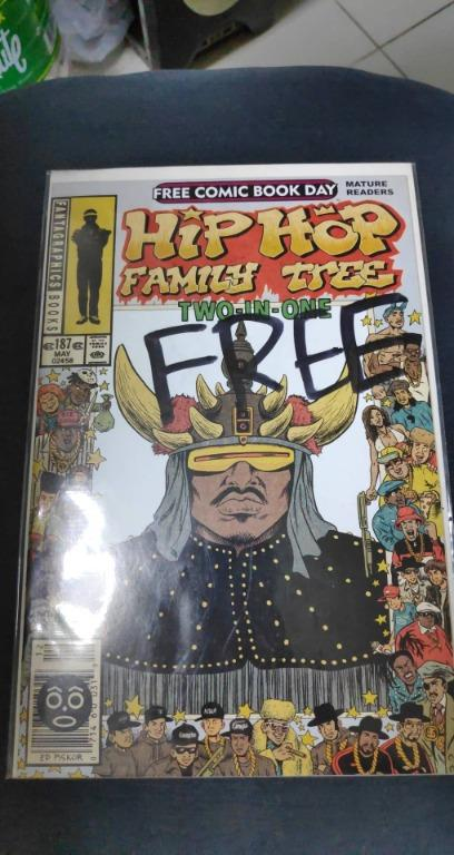 Hip Hop Family Tree Two-in-One (2014 Fantagraphics) Free Comic Book Day #0