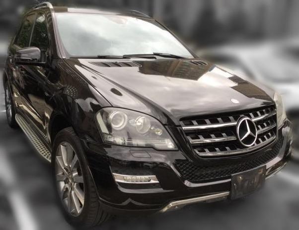 Jc car 2011年 Benz ML350 3.0L 4WD 大馬力 柴油頂級特仕豪華版 滿配 豪華舒適 霸氣休旅