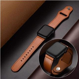 leather loop strap For Apple Watch band 42mm 38mm 44mm 40mm for iwatch 5/4/3/2/1 leather band