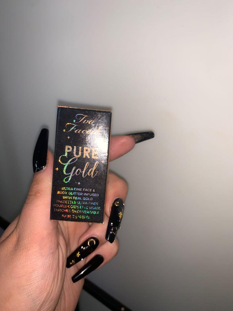 **NEW** Limited Edition Too Faced Pure Gold Pigment