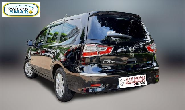 Nissan Grand Livina 1.5 SV Manual Hitam Dp 27,9 Jt No Pol Ganjil