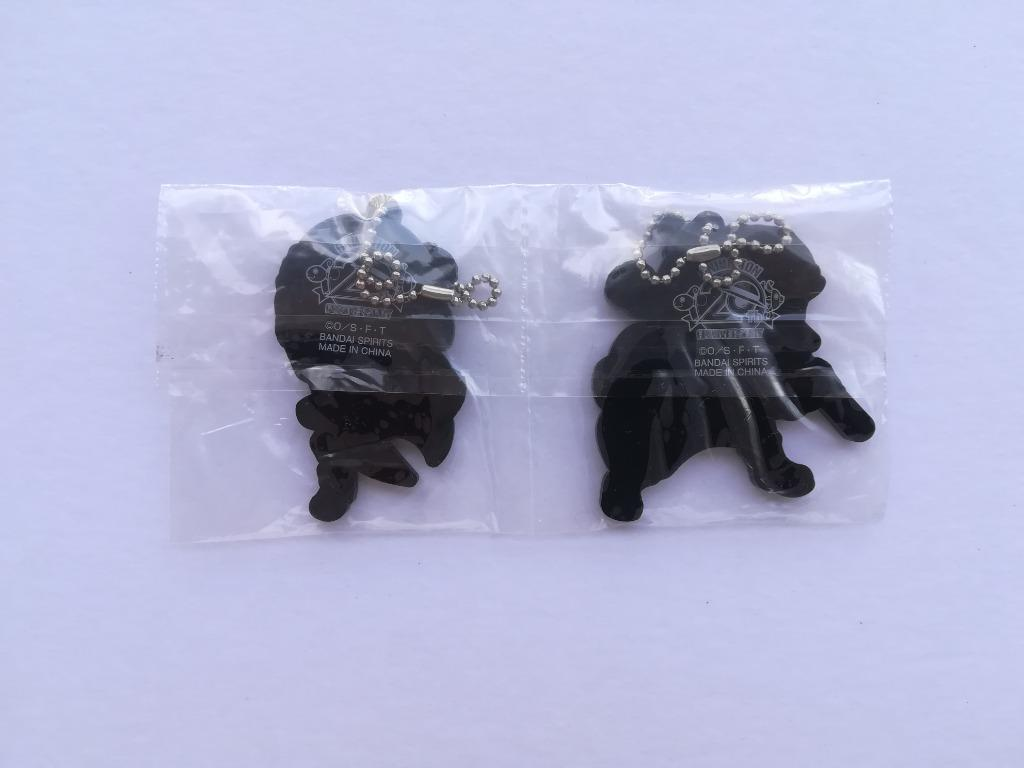 One Piece - Smoker & Tashigi - Rubber Mascot Strap Set