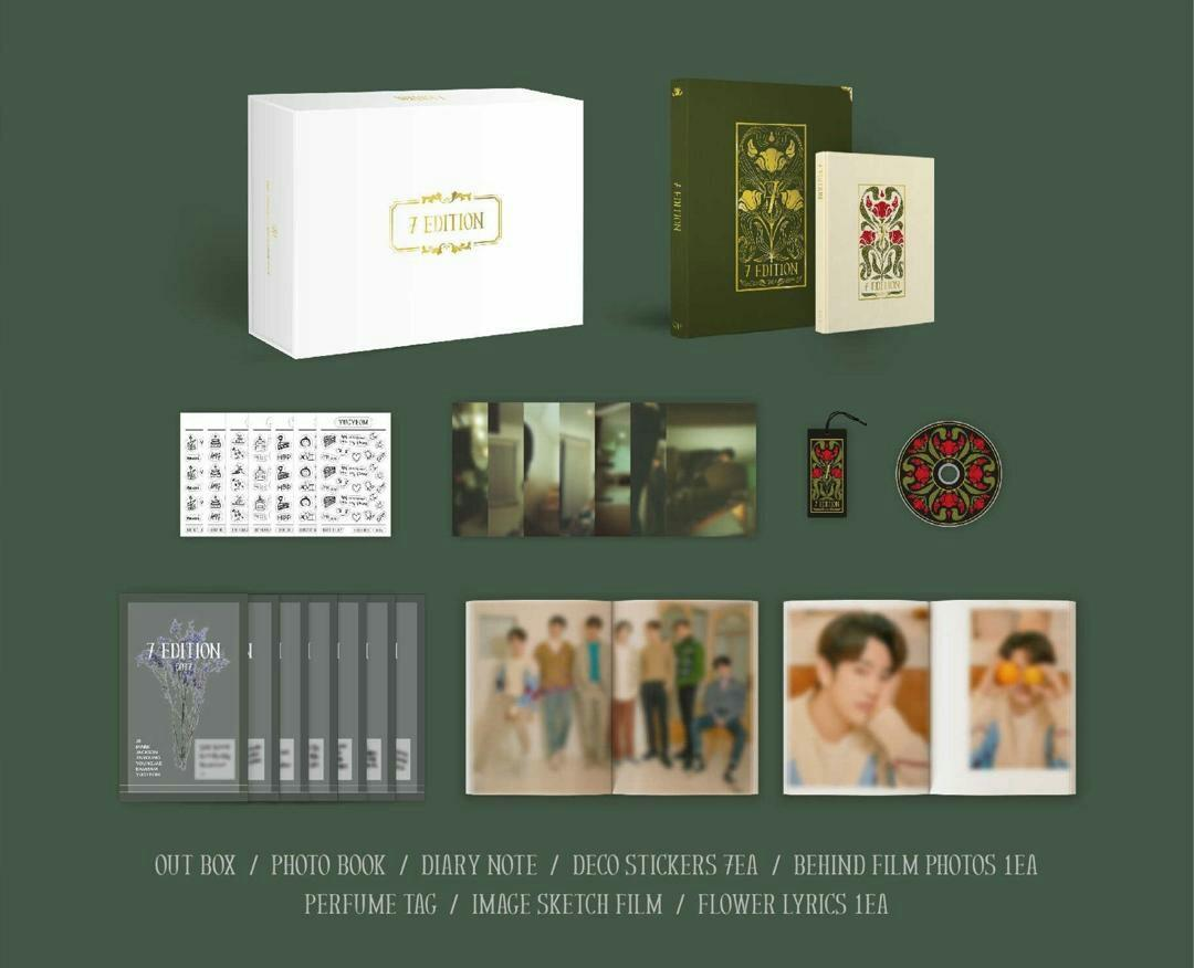 [PREORDER WITH SPECIAL PRICE ] GOT7 - OFFICIAL PHOTOBOOK (7EDITION)