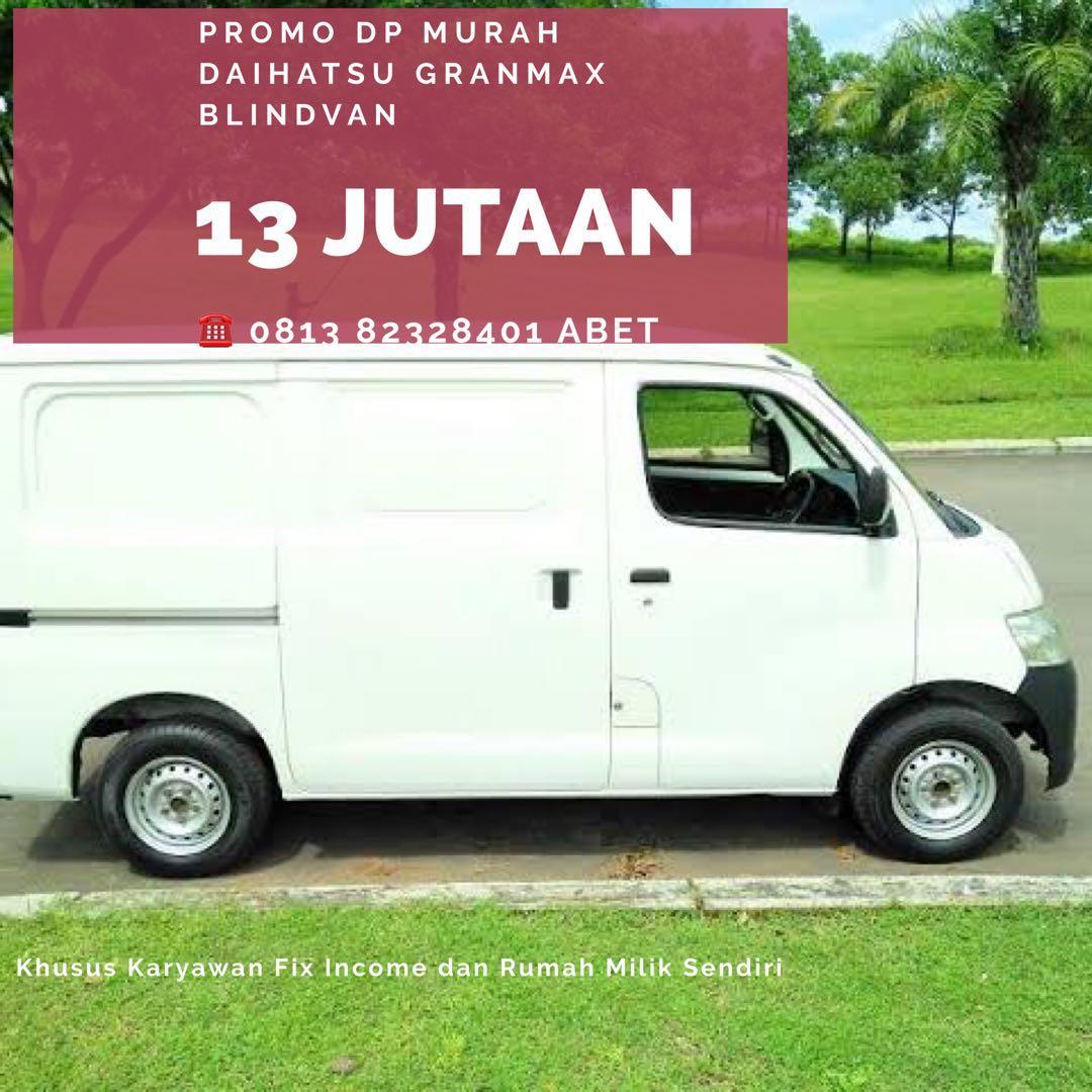 PROMO DP MURAH Daihatsu Granmax Blind Van mulai 13 jutaan. Daihatsu Pamulang