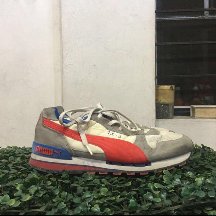 Puma Shoes Red White Blue, Men's