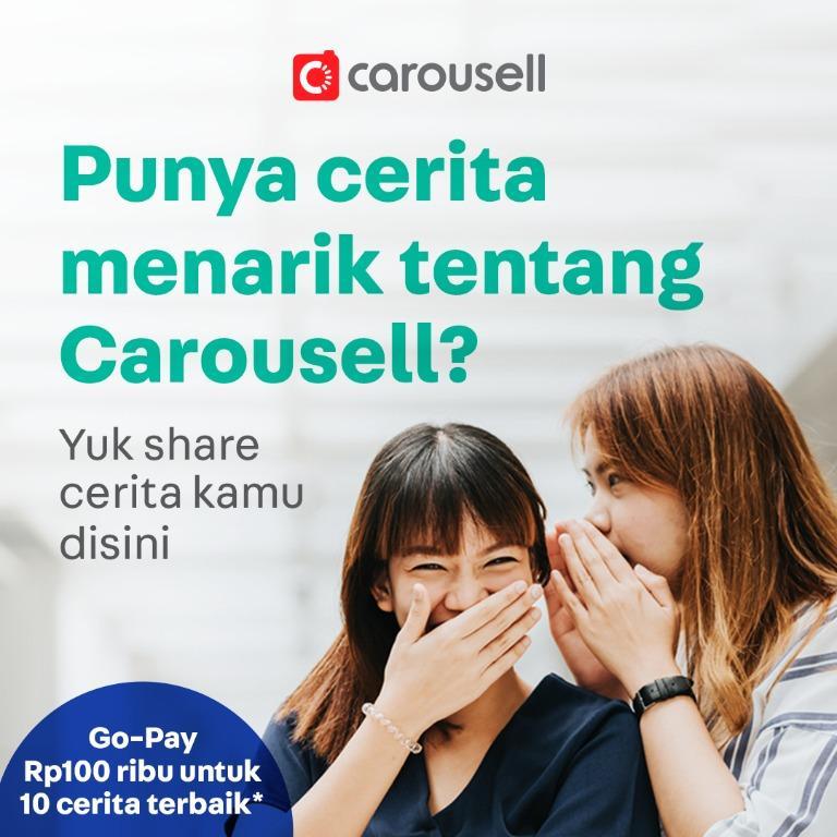Punya cerita menarik tentang Carousell?