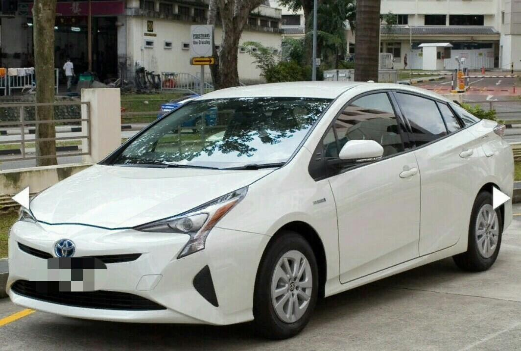 RENT 17,18,19,20,21,22,23,24 Feb Toyota Prius Hybrid for Hire 17 - 24 February