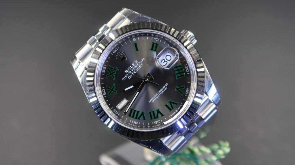 Rolex Datejust 2 41 126334 Slate Dial Jubilee Bracelet (Cash) Sticker Intact