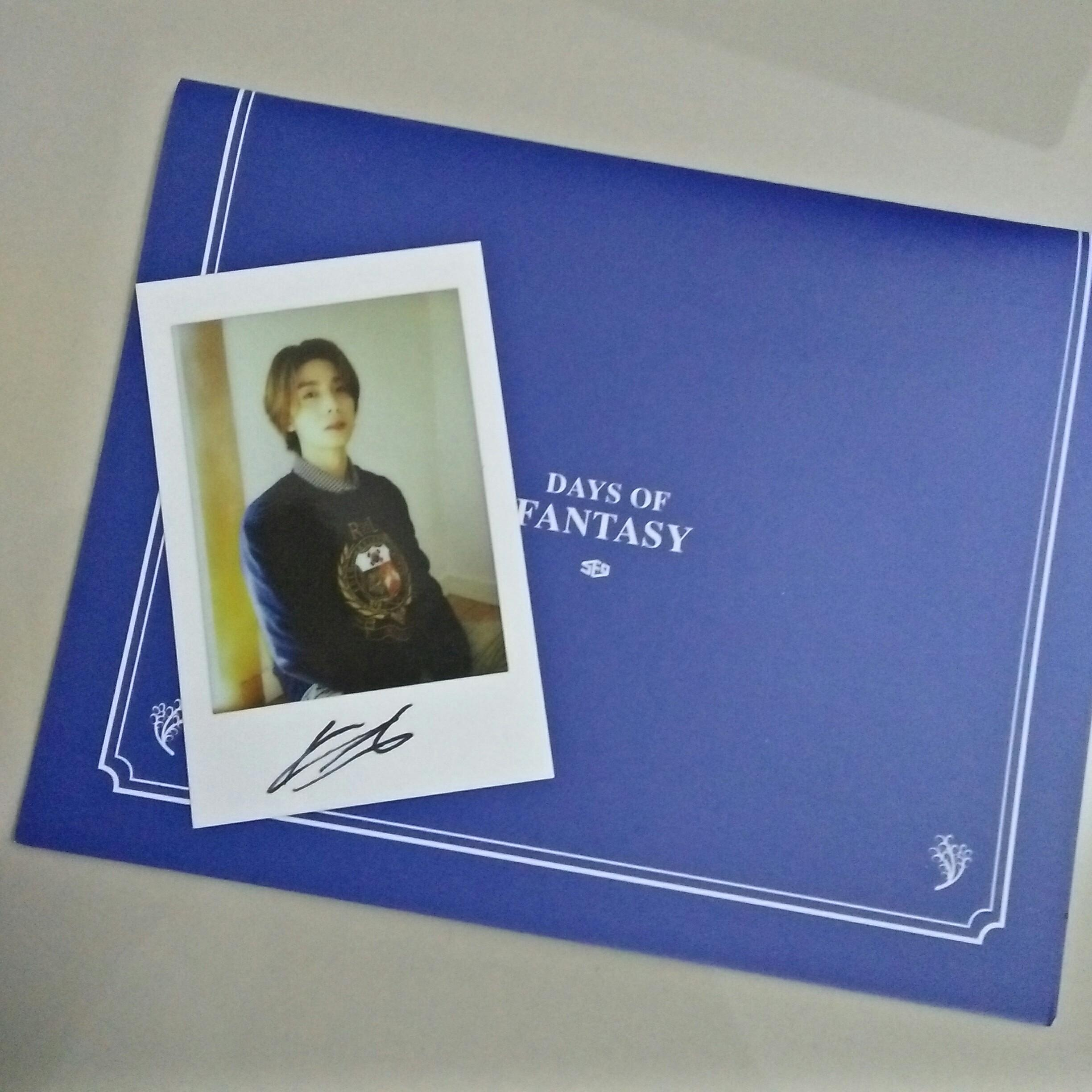 (Signed) Hwiyoung Polaroid SF9 Season Greetings 2020