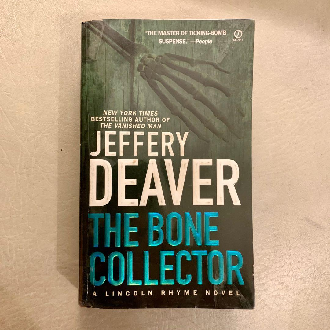 The Bone Collector by Jeffery Deaver (Read description before asking questions)