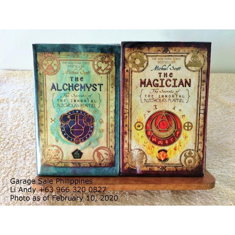 The Secrets of the Immortal Nicholas Flamel by Michael Scott, Alchemyst, Magician, Sorceress