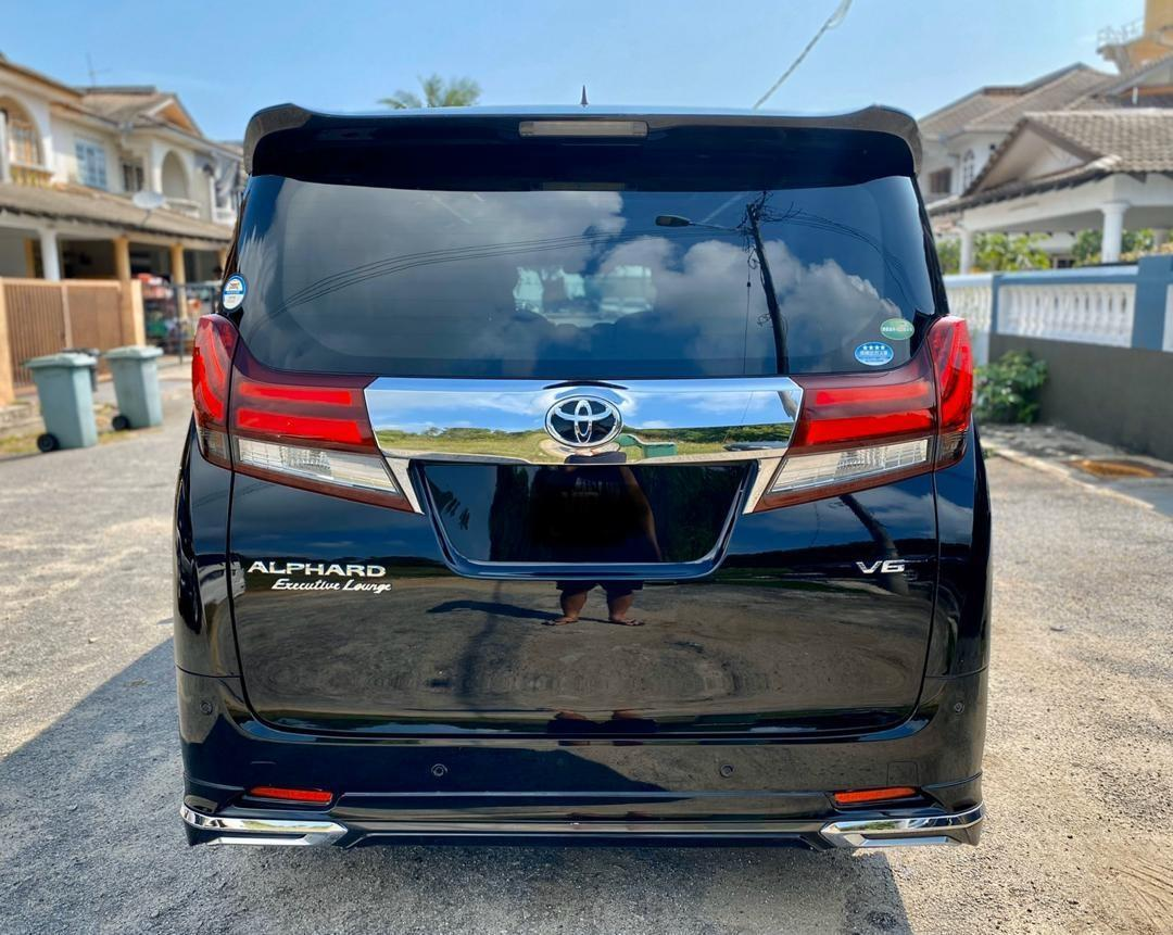 SEWA BELI BERDEPOSIT>>TOYOTA ALPHARD 3.5 EXECUTIVE LOUNGE HIGH SPEC 6 SEATERS 2015/2017 26