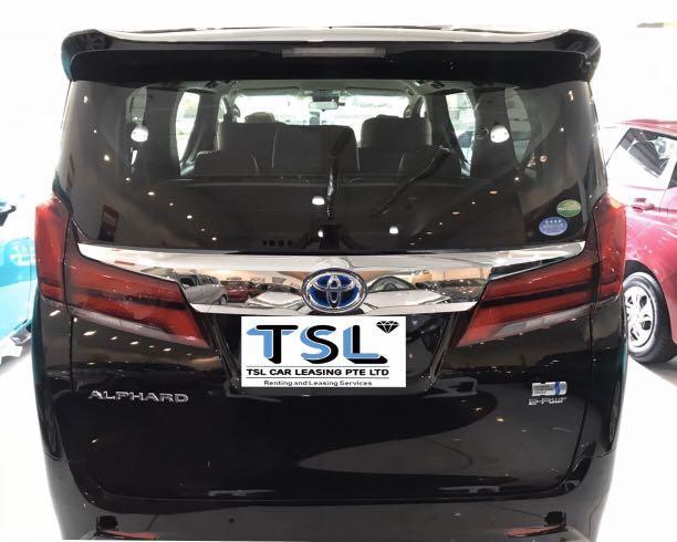 Toyota Alphard hybrid 2.5a