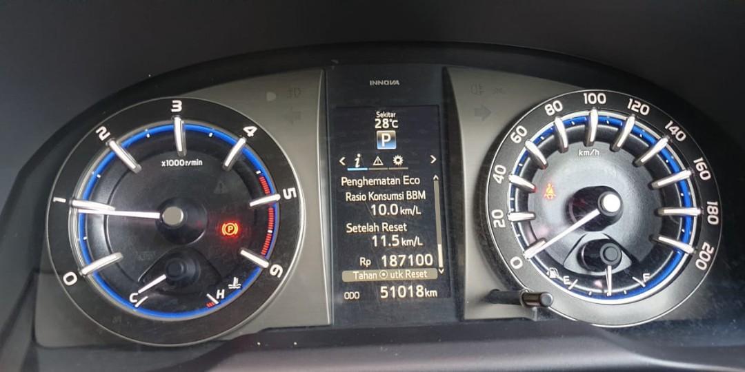 Toyota Innova Reborn Diesel  AT Type  Q pemakaian pribadi