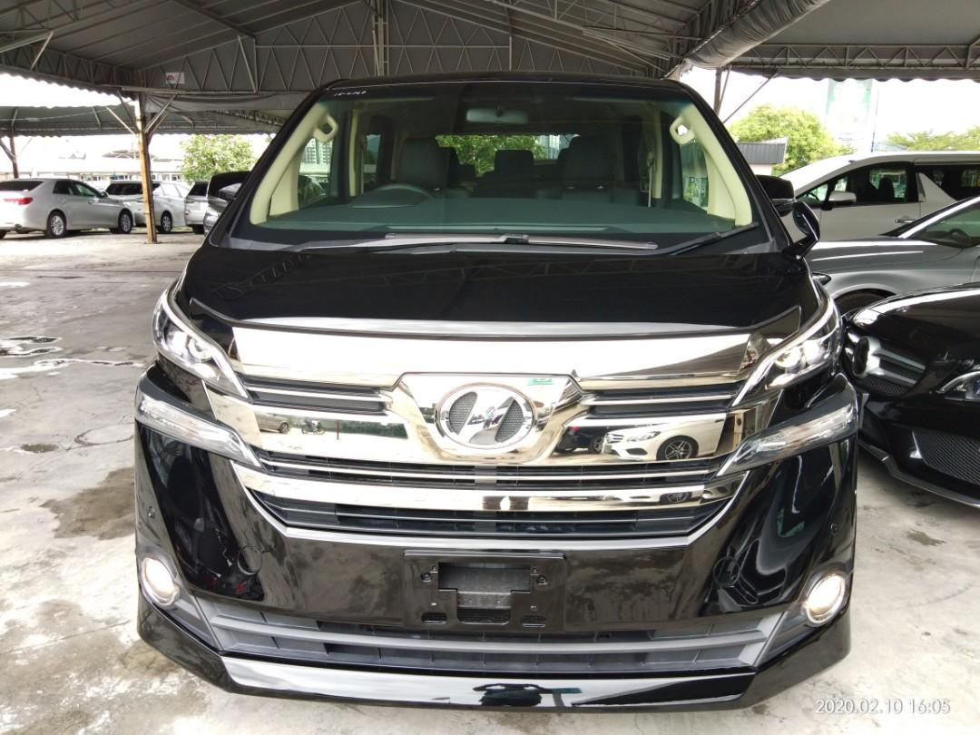 TOYOTA VELLFIRE 2.5 X SPEC 2015🇯🇵  ON THE ROAD~PRICE RM162,888.88👍👍100%No other charges.😌⭐~100%绝无别的收费😌⭐ SengSeng~ReconGroup  📲www.wasap.my/+60122367272/SengSeng☺🙏