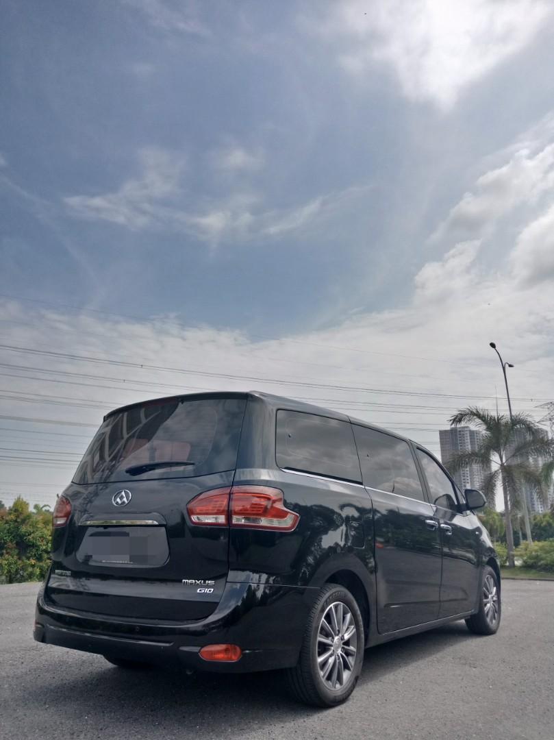 Weststar Maxus G10 2.0(A) MPV Sewa Murah Selangor KL