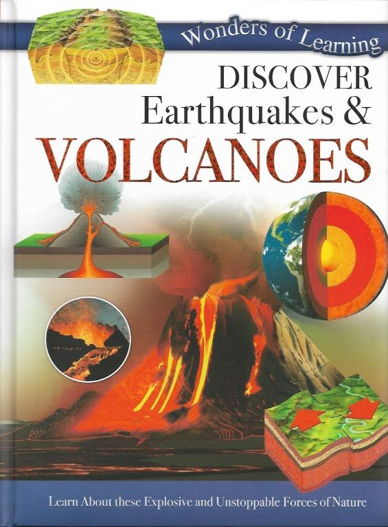 Wonders of Learning - Discover Earthquakes & Volcanoes | English | Children's Book