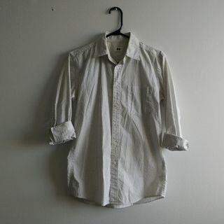 Uniqlo Dotted Shirt / XS