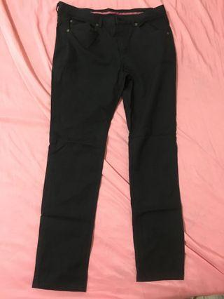 Herbench stretchy black colored pants