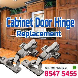 Cabinet Door hinges replacement