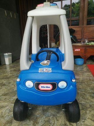 Little tikes blue police