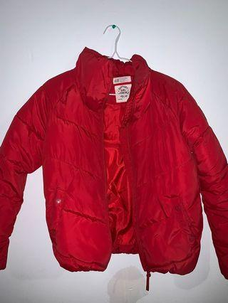 H&M Red Puff Jacket