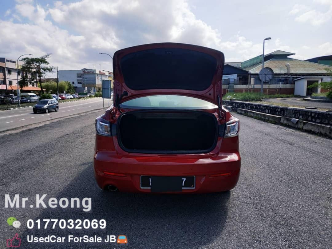 2010TH MAZDA 3 1.6AT SPORT(SEDAN) Low MILEAGE Cash💰OfferPrice💲Rm29,800 Only‼LowestPrice InJB‼Interested Call📲KeongForMore🤗