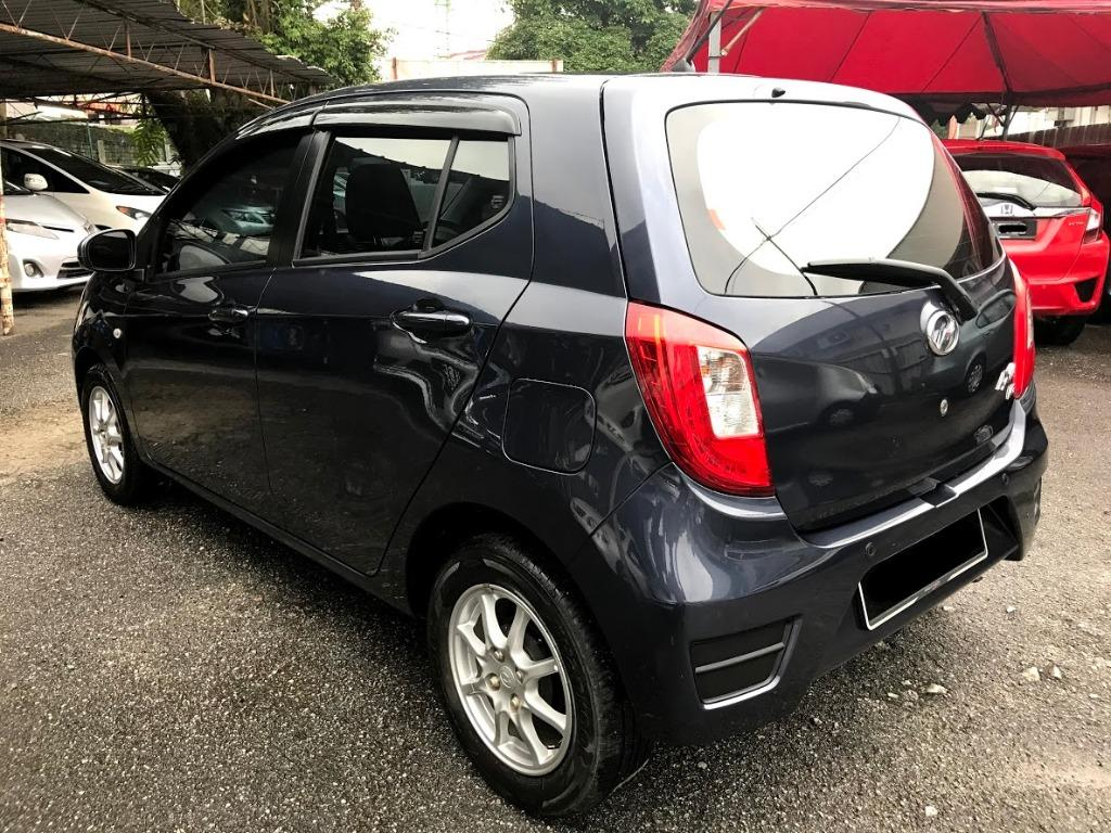 2016 Perodua AXIA 1.0 G (A) ONE OWNER DOWNPAYMENT 2K