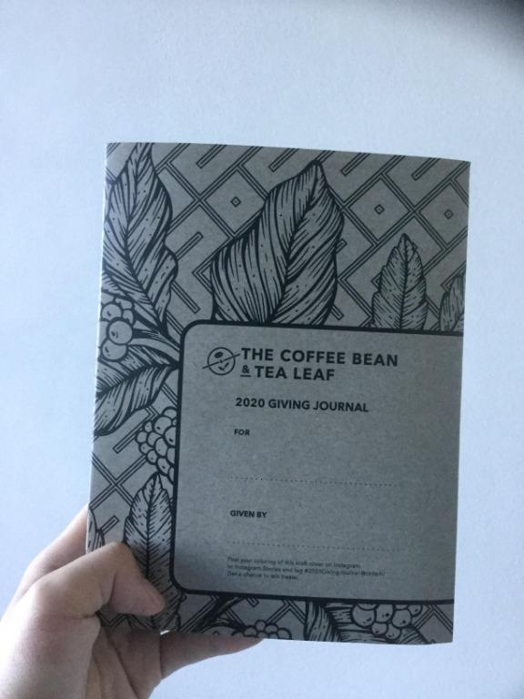 2020 coffee bean and tea leaf (cbtl) planner / giving journal (pink) | brand new & sealed