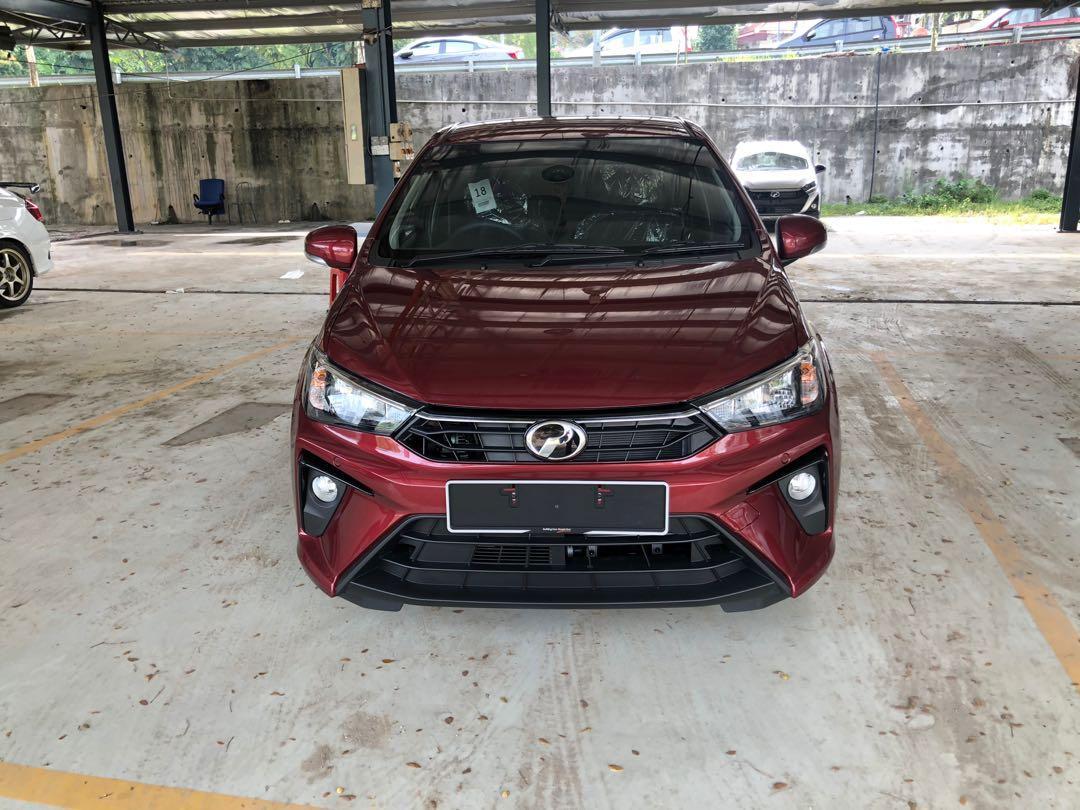 2020 Perodua Bezza 1.3 X (A) Garnet Red Maximum Loan