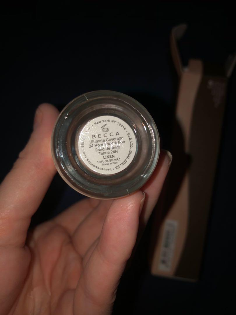 Becca ultimate coverage 24 hour wear foundation - linen