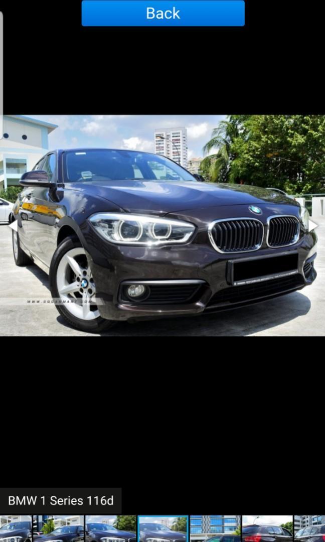 BMW 116d 5-Dr (A)