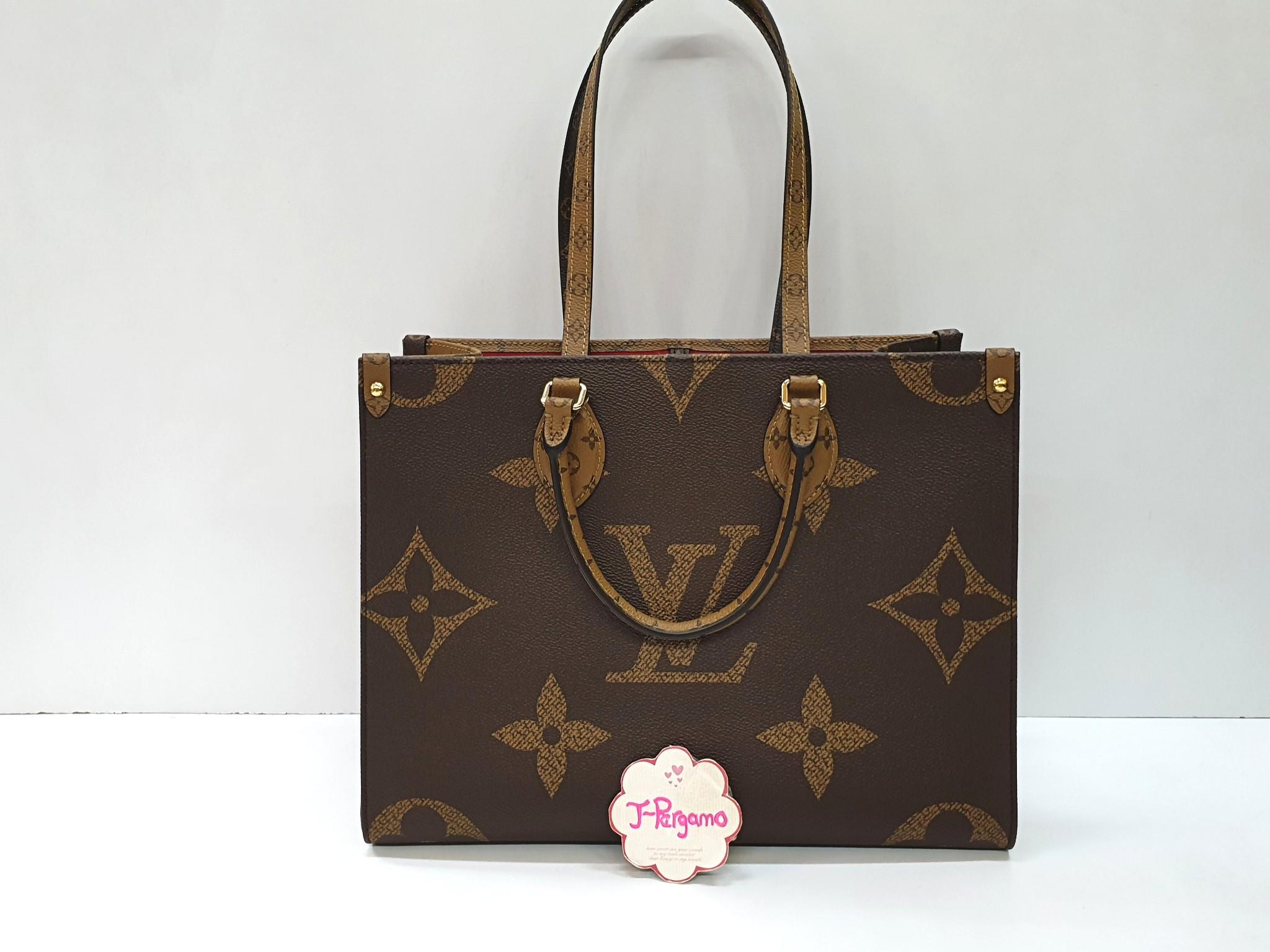 Brand New! Louis Vuitton Monogram Reverse Canvse On The Go MM (M45039) {{Only For Sale}}**No Trade** {{Fixed Price}}**定价**
