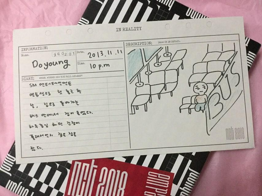 DOYOUNG DIARY [ NCT 2018 EMPATHY ] [ REALITY VER ]