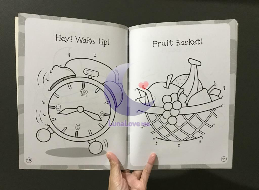Fun with Dot-to-Dot | English | Activity Book | Children's Book