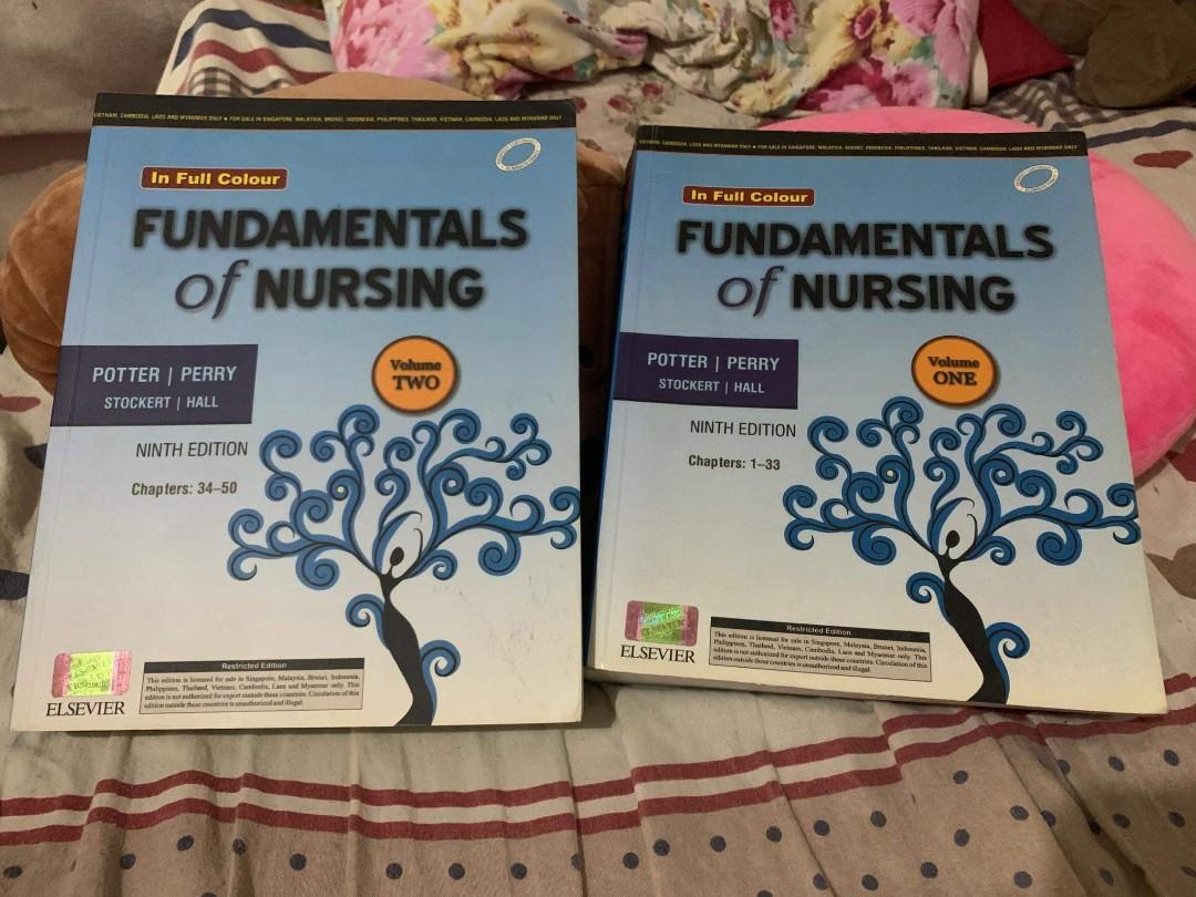 GOOD AS NEW COLORED BOOK of POTTER - Fundamentals of Nursing (Ninth Edition)