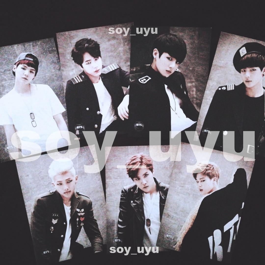[INTEREST CHECK] BTS THE RED BULLET TOUR 2015 IN MALAYSIA OFFICIAL POSTCARDS